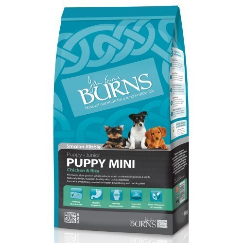 Burns Puppy Mini Chicken & Rice (12kg)