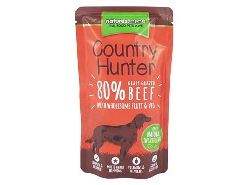 Natures Menu Country Hunter Beef Pouches